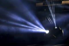 Iluminação do concerto do entretenimento Fotografia de Stock Royalty Free