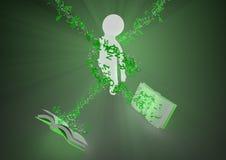 Iluminação do conhecimento Imagem de Stock