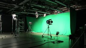 A iluminação do filme do grupo vídeos de arquivo