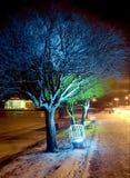 Iluminação do Natal Foto de Stock