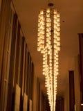 Iluminação espetacular em John F Kennedy Arts Centre no Washington DC EUA Fotografia de Stock Royalty Free