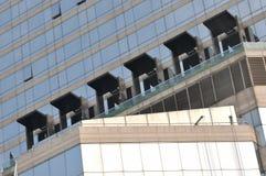Iluminação externa ou edifício moderno Fotografia de Stock Royalty Free