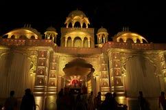 Iluminação-IIi bonita do palácio Imagens de Stock Royalty Free