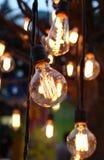 Iluminação luxuosa decorada foto de stock
