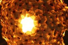 Iluminação no restaurante Imagens de Stock Royalty Free