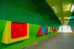 Iluminação no túnel Fotos de Stock