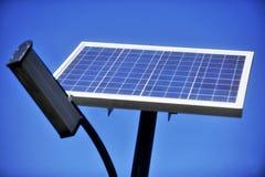 Iluminação pública ecológica Imagens de Stock Royalty Free