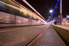Iluminações de Blackpool Fotografia de Stock Royalty Free