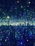 Ilumina a arte Foto de Stock