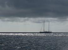 Ilumina o mar Fotografia de Stock