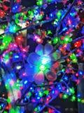 Iluminación colorida foto de archivo