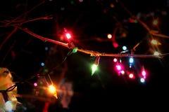 Iluminación colorida Imágenes de archivo libres de regalías