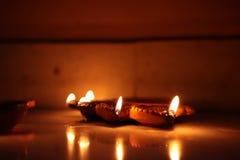 Iluminación de Diwali fotos de archivo