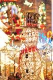 Iluminación de la decoración foto de archivo