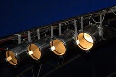 Iluminación de la etapa Foto de archivo libre de regalías