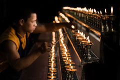 Iluminación de la lámpara fotos de archivo libres de regalías