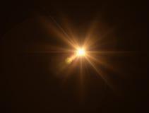 iluminación de la llamarada caliente Imágenes de archivo libres de regalías
