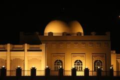 Iluminación de la mezquita de la arquitectura Foto de archivo