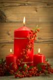 Iluminación de la Navidad Foto de archivo libre de regalías