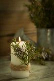 Iluminación de la Navidad Fotografía de archivo libre de regalías