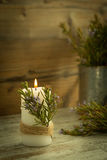 Iluminación de la Navidad Fotos de archivo