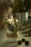 Iluminación de la Navidad Imágenes de archivo libres de regalías