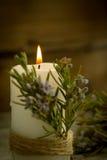 Iluminación de la Navidad Foto de archivo
