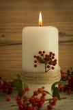 Iluminación de la Navidad Fotos de archivo libres de regalías