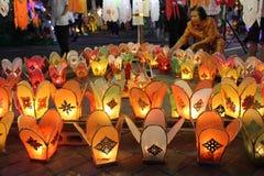 Iluminación de la vela Imagen de archivo libre de regalías