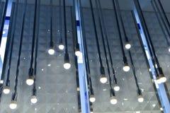iluminación de la ventana de la tienda Imagen de archivo libre de regalías