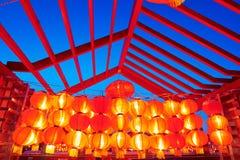 Iluminación de las linternas Imagen de archivo libre de regalías
