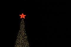 Iluminación del árbol Fotografía de archivo
