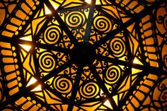 Iluminación del art déco Fotografía de archivo libre de regalías