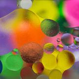 Iluminación del color de aceite Fotografía de archivo libre de regalías