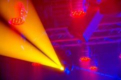 Iluminación del concierto Imagenes de archivo