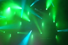 iluminación del concierto Fotografía de archivo libre de regalías