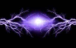 Iluminación eléctrica Foto de archivo libre de regalías