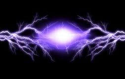 Iluminación eléctrica Fotografía de archivo libre de regalías