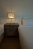 Iluminación en el dormitorio Fotografía de archivo libre de regalías
