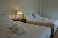 Iluminación en el dormitorio Imagenes de archivo