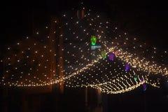 Iluminación en el festival foto de archivo libre de regalías