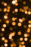 Iluminación festiva de la Navidad imagenes de archivo