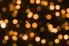 Iluminación festiva de la Navidad Foto de archivo