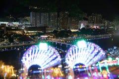 Iluminación festiva en la lata 2015 de Sha Fotografía de archivo