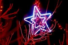 Iluminación hermosa del día de fiesta Imagenes de archivo