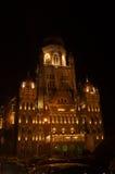 Iluminación-Ii municipal de la celebración del edificio de Bombay Imagen de archivo libre de regalías