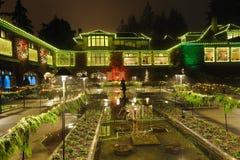 Iluminación italiana del jardín Foto de archivo