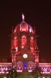 Iluminación-v de la celebración del Día de la Independencia Imagen de archivo libre de regalías