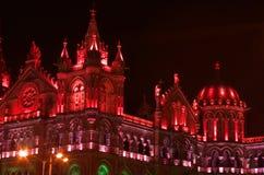 Iluminación-VIi de la celebración del Día de la Independencia Imagen de archivo libre de regalías