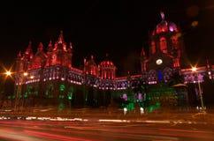 Iluminación-VIIi de la celebración del Día de la Independencia Imagen de archivo